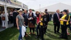La discuții cu Președintele Asociației Aberdeen Angus Scoția.