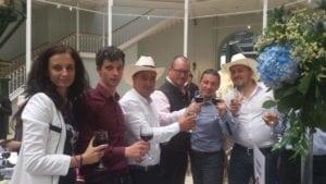 Echipa noastră la gala finală la World Angus Forum.